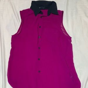 Forever 21 Purple Top